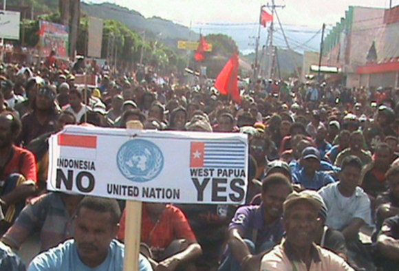 Demands for a new referendum are widespread throughout West Papua