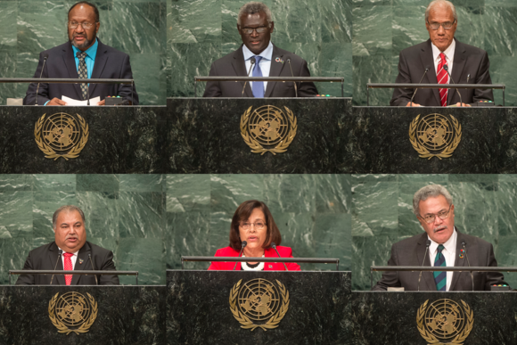 Pacific Island countries show their support for West Papua with speeches at UN
