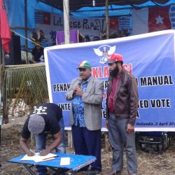 United West Papuan people launch the manual petition for an Internationally Supervised Vote