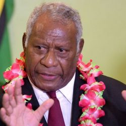 Condolence message after the death of Vanuatu President Baldwin Lonsdale