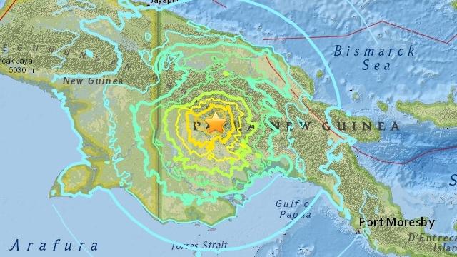 ULMWP sends its condolences after Papua New Guinea earthquake